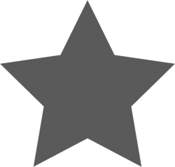 The png image for a star icon